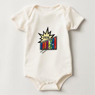 fun pop word cloud baby bodysuit