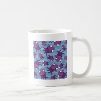 Fun Purple Monsters Creatures Blue Gifts for Kids Mugs