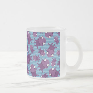 Fun Purple Monsters Creatures Blue Gifts for Kids Mug