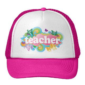 Fun Retro Teacher Cap