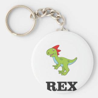 fun rex dino key ring