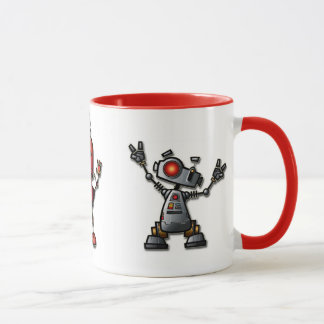 Fun Robot mug
