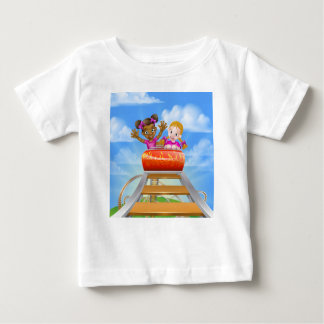 Fun Roller Coaster Kids Baby T-Shirt