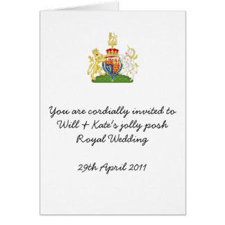 Fun Royal Wedding party invites