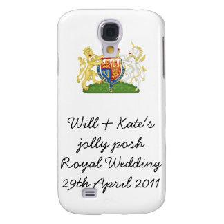 Fun Royal Wedding souvenir mobile cover Samsung Galaxy S4 Covers