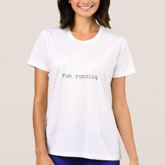Fun running ladies shirt