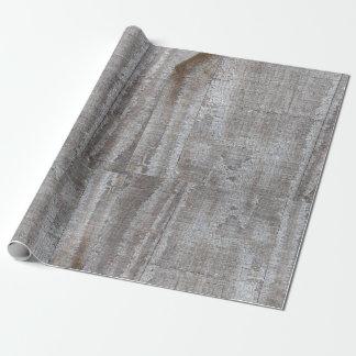 Fun, Rustic, Grey, Barnwood, Wrapping Paper