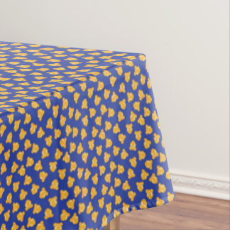 Fun Scattered Popcorn Pattern Tablecloth