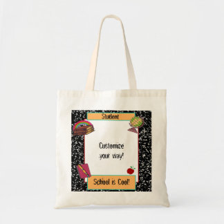 Fun School Theme Tote Bag