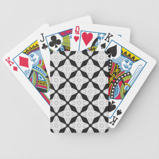 Fun shape creation bicycle playing cards