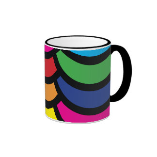 Fun shapes coffee mug