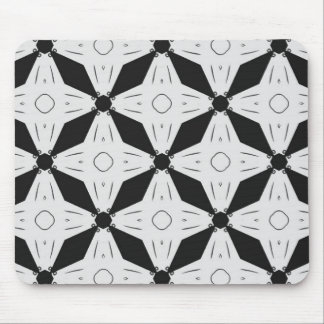 Fun shapes design pattern mouse pad