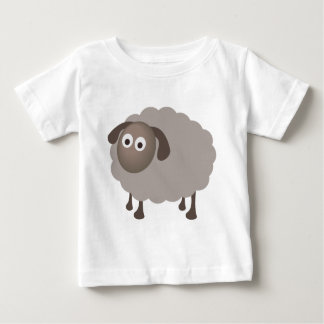 Fun Sheep Design Baby T-Shirt