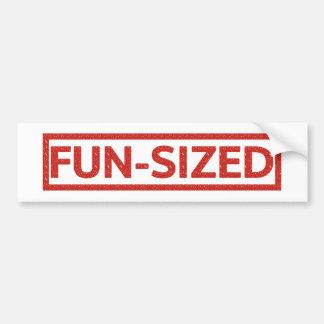 Fun-sized Stamp Bumper Sticker