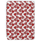 Fun Sketchy Hearts Pattern iPad Air Cover