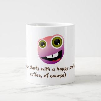 Fun Smiling Face Coffee Mug