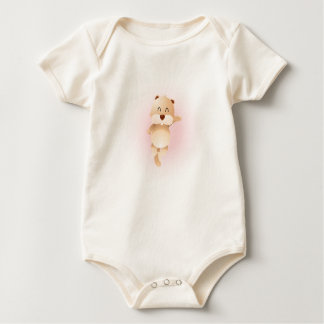 Fun Squirrel Cartoon Baby Shirt