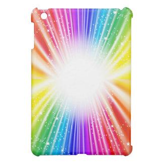 Fun Star Rainbow  Cover For The iPad Mini
