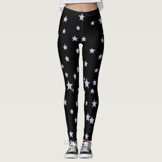 Fun Starry Design Leggings