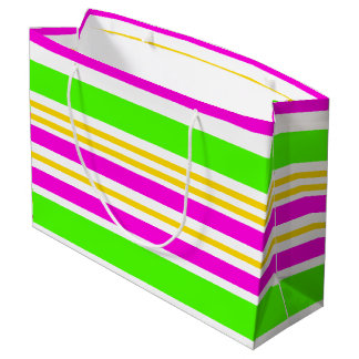 Fun Stripes Large Gift Bag