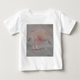 Fun sun blue baby T-Shirt
