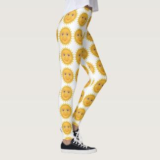 Fun Sun Pattern Leggings