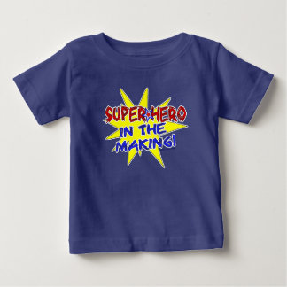 Fun Super Hero In The Making Baby/Kid Apparel T Shirts