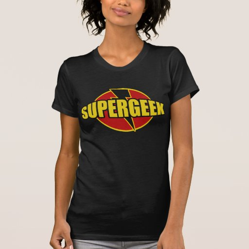 Fun SUPERGEEK Graphic TEE