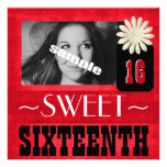 Fun Sweet Sixteenth Party for Country Girls Personalised Invite