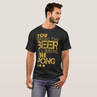 Fun t-shirt beer pong