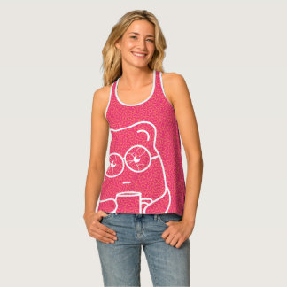 Fun T-shirt with bear on it