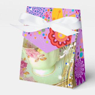 FUN TEA PARTY/TABLE TOP DECORATION FAVOUR BOX
