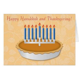 Fun Thanksgivukkah (Thanksgiving/Hanukkah) Card