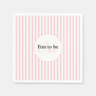 Fun To Be One Paper Serviettes