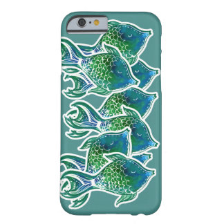 Fun Tropical Sea Life Fish Pattern Barely There iPhone 6 Case