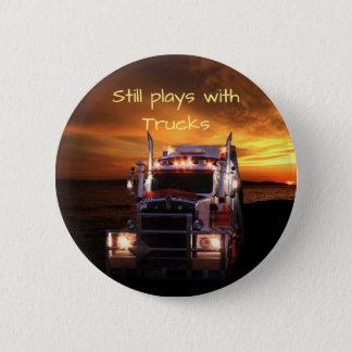 Fun Truck Drivers 6 Cm Round Badge