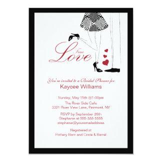 Fun True Love Bridal Shower Invitation