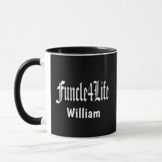 Fun Uncle For Life FUNCLE Mug