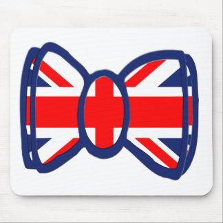 Fun Union Jack Bow Tie Art Mouse Pad