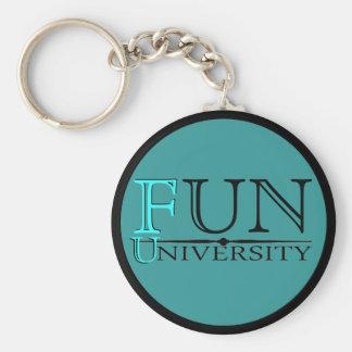 Fun University hidden meaning funny keychain