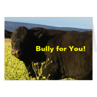 Fun Vet Graduation Congratulations Ranch Farm Bull Card