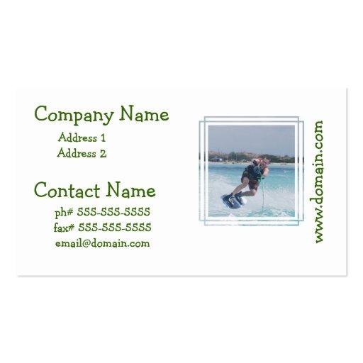 Fun Wakeboarding Business Card