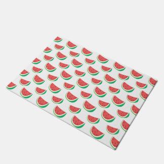 Fun Watermelon Pattern Doormat