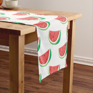 Fun Watermelon Pattern Short Table Runner