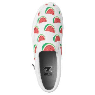 Fun Watermelon Pattern Slip On Shoes