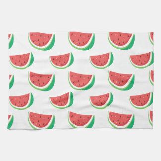 Fun Watermelon Pattern Tea Towel
