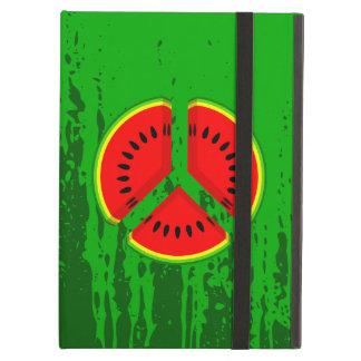 Fun Watermelon Peace Bright Colours iPad Air Covers