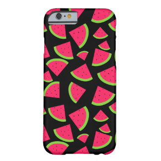 Fun Watermelon Slices Random Pattern Barely There iPhone 6 Case