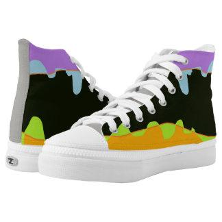 fun weird landscape shoes