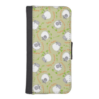 Fun Welsh Sheep, Wales Forever iPhone Wallet Phone Wallet Case